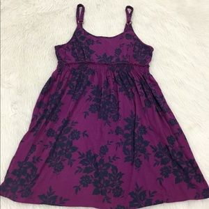 Sonoma purple floral summer dress